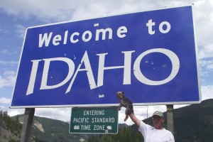 Idaho 2016 festivals ID events road sign
