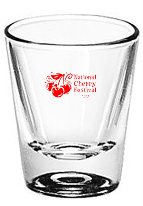 Clinton Easter Fest customized glassware vending