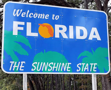 Florida Festivals and top things to do in 2016 FL celebrations sign