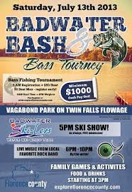 Badwater Bash and Bass Tourney festival