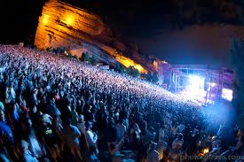 Red Rocks Music festival Top 150 music festivals in America