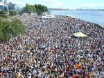 Seattle Hempfest protestival crowds