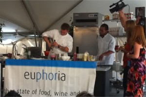 Euphoria Greenville South Carolina festival cook