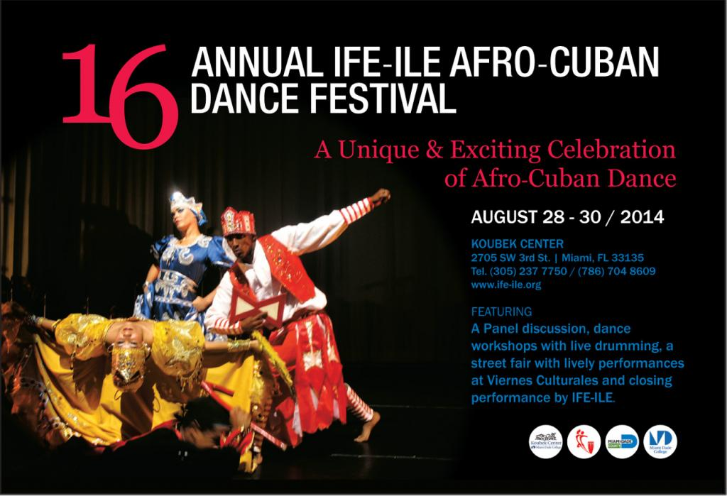 Afro Cuban Dance festival 2014 in Miami