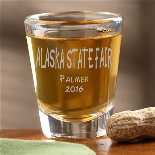 State Fair of Alaska 2016 shot glass image