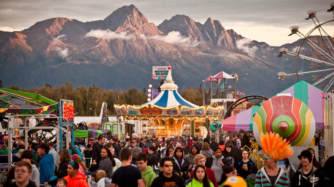Alaska State Fair festivals events 2015