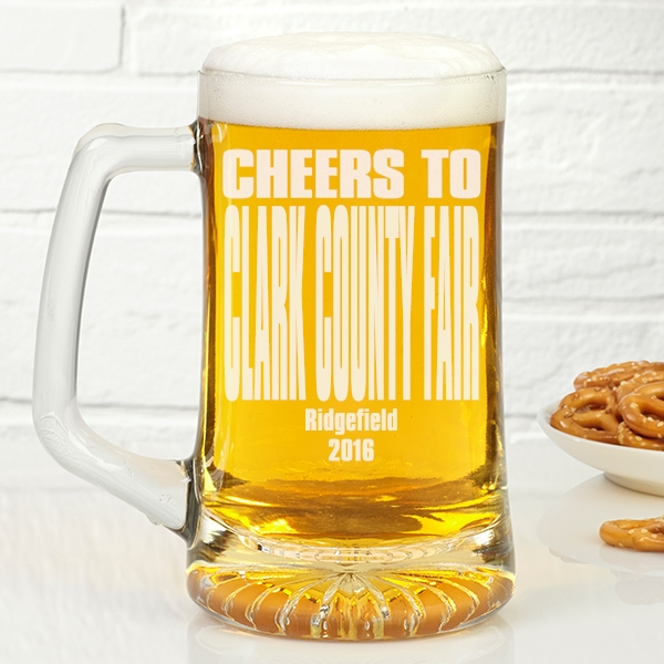 Clark County Fair award - Top Washington August festival 2016 beer mug prize
