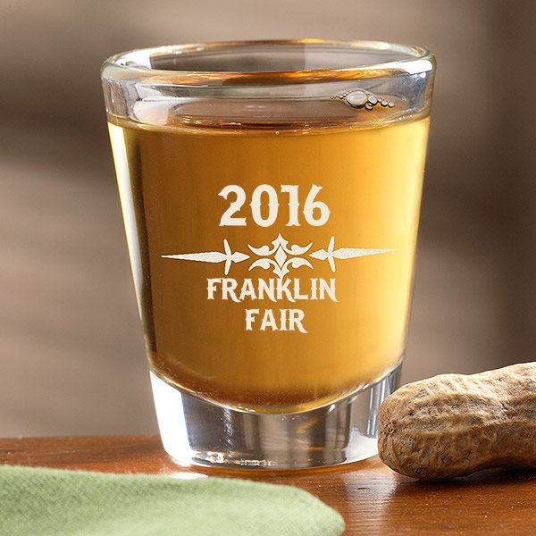 Franklin County Fair 2016 shot glass