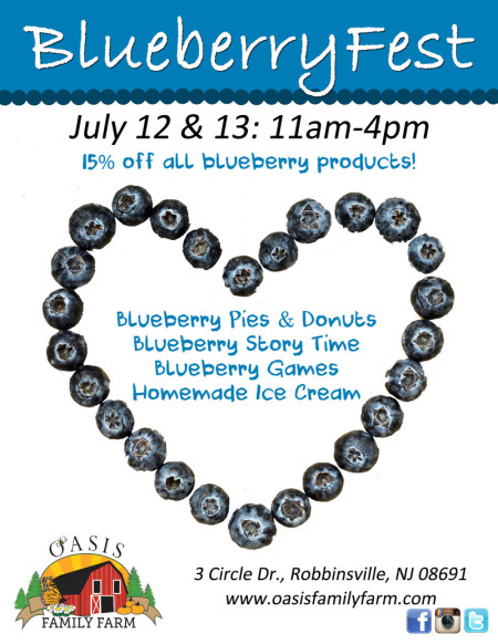 New Jersey Blueberry festival