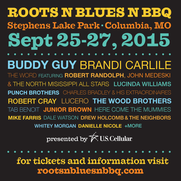 Roots N Blues N Bbq Festival 2015 photo logo image