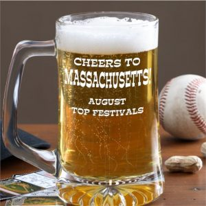 Massachusetts August festival beer mug award