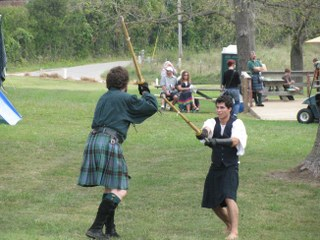 scottish sword events at the highland games in missouri