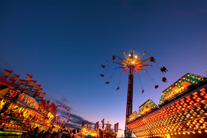 summer festivals in New Jersey 2014 Midway carnival fair