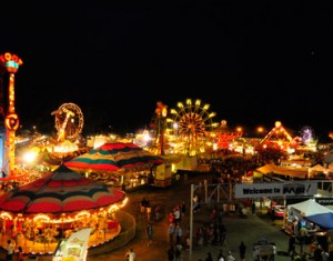 Idaho festivals like the Western Idaho midway